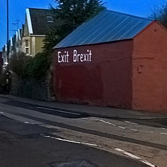 """photo """"Exit Brexit"""""""