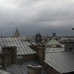 "photo ""Roofs of Riga"""