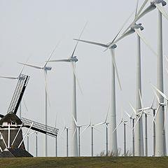 "photo ""old-new windmills"""