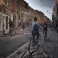 """фото """"Город велосипедистов"""""""