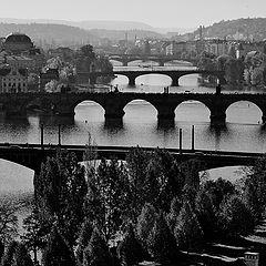 "photo ""Прага и мосты"""