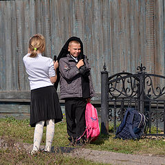 """фото """"Мальчик с девочкой гулял..."""""""