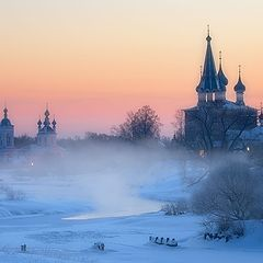 "photo ""Frosty morning in Dunilovo"""