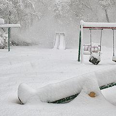 """фото """"Первоапрельская шутка весны. Утро 31 марта."""""""
