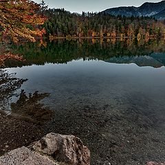 """фото """"Горное озеро Алатзее (Германия, Бавария)"""""""