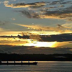 "photo ""Caribbean sunset"""