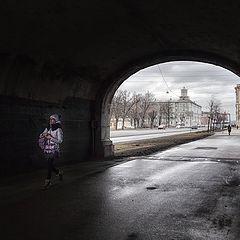 "фото ""Под мостом..."""