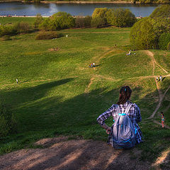 "фото ""На холмах Коломенского..."""