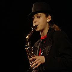 """фото """"Соло на саксофоне"""""""