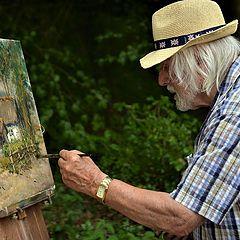 "photo ""Friend painter  Leon ,Engelen  Belgium"""