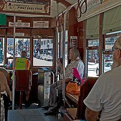 """фото """"В трамвае"""""""