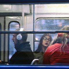 """photo """"In the Riga tram ..."""""""