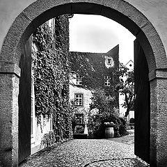 """фото """"Ворота и дом"""""""