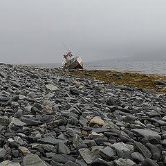 "photo ""In the commune of Nordkapp."""
