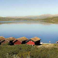 "photo ""Boat-houses"""