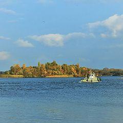 """фото """"Осенний островок."""""""