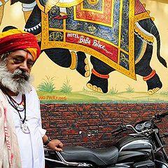 """фото """"Hindhu priest (Udaipur Rajisthan)."""""""