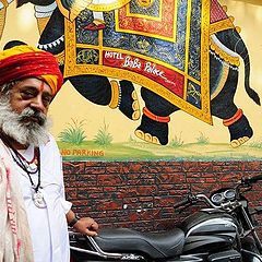 "photo ""Hindhu priest (Udaipur Rajisthan)."""