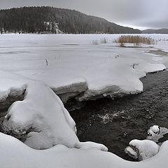 """фото """"На зимней реке"""""""