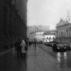"""фото """"Непогода в городе..."""""""
