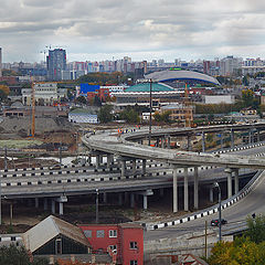 "photo ""Chelyabinsk is being built"""