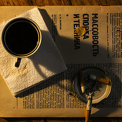 """фото """"утренний кофе"""""""