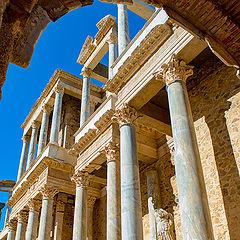"фото ""Roman Theatre of Mérida"""