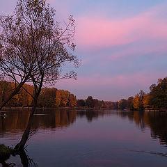 "фото ""закат осени..."""