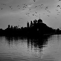 """photo """"Утро на реке Влтава"""""""