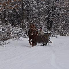 """фото """"Зима!.. Крестьянин, торжествуя..."""""""