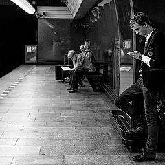 """фото """"ожидание поезда"""""""