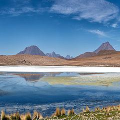 """photo """"Aguas Caliente & Five Colors Mountain"""""""