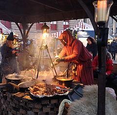 "photo ""At the Christmas Fair. Riga"""