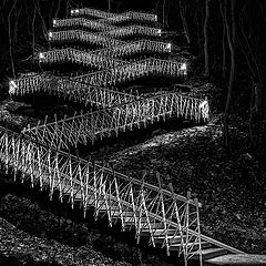 "фото ""Ночная лестница"""