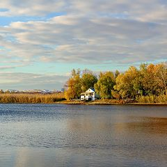 """фото """"Осень на Голубом озере."""""""