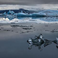 """фото """"Голубой лёд Исландии"""""""