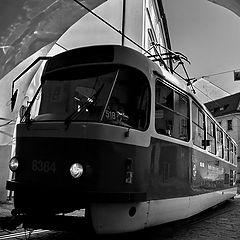 "photo ""Трамвай и проезд"""