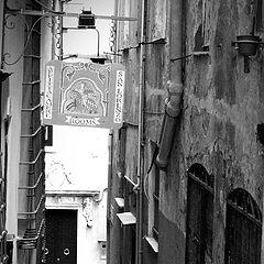 """photo """"Genoa, Italy: alley"""""""