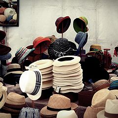 "photo ""selling hats"""