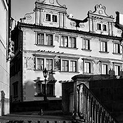 """photo """"Дом и лестница"""""""