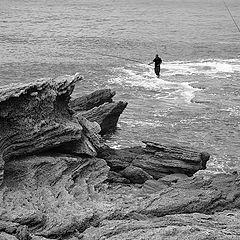 """фото """"Рыбалка в Кейсарии."""""""