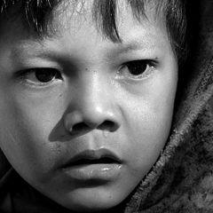 """photo """"Guarani indian child."""""""