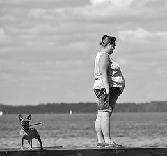 """фото """"дама с собачкой"""""""