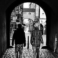 "photo ""Проход и фигуры"""
