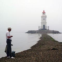 "фото ""Один маяк другой маячит"""