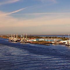 """photo """"River - sea"""""""
