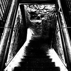 """photo """"Лестница в подземелье"""""""