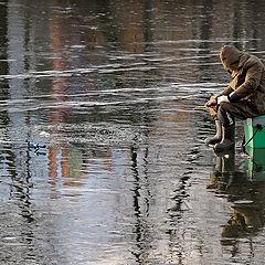"""фото """"Весна, лед, рыбалка"""""""