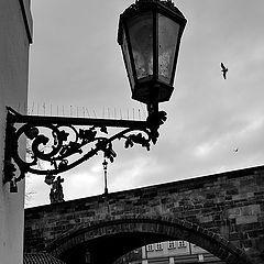 """фото """"Фонарь и мост"""""""