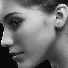 """photo """"Portrait """"Glamor profile"""". Location A. Krivitsky."""""""